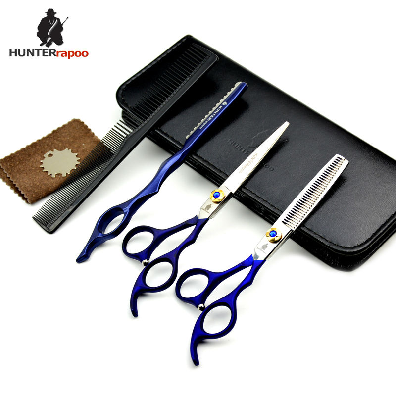 30% av 5,5,6 tums professionell frisör sax japan barber shear set - Hårvård och styling - Foto 6