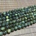 6-10 MM 1 Strand/pacote 100% Natural Espectrolita Labradorite Pedra Redonda Solta Pérola Vertentes Jóias Beads
