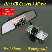 4.3 » LCD экран монитора автомобиля + CCD камера заднего вида для BMW 1 серии E82 3 серии E46 E90 E91 5 серии E39 E53 X3 X5 X6 резервного копирования