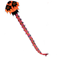 Free Shipping Outdoor Fun Sports NEW 8m Power Dragon Kite / Centipede Kites With Handle And 30m Line Good Flying