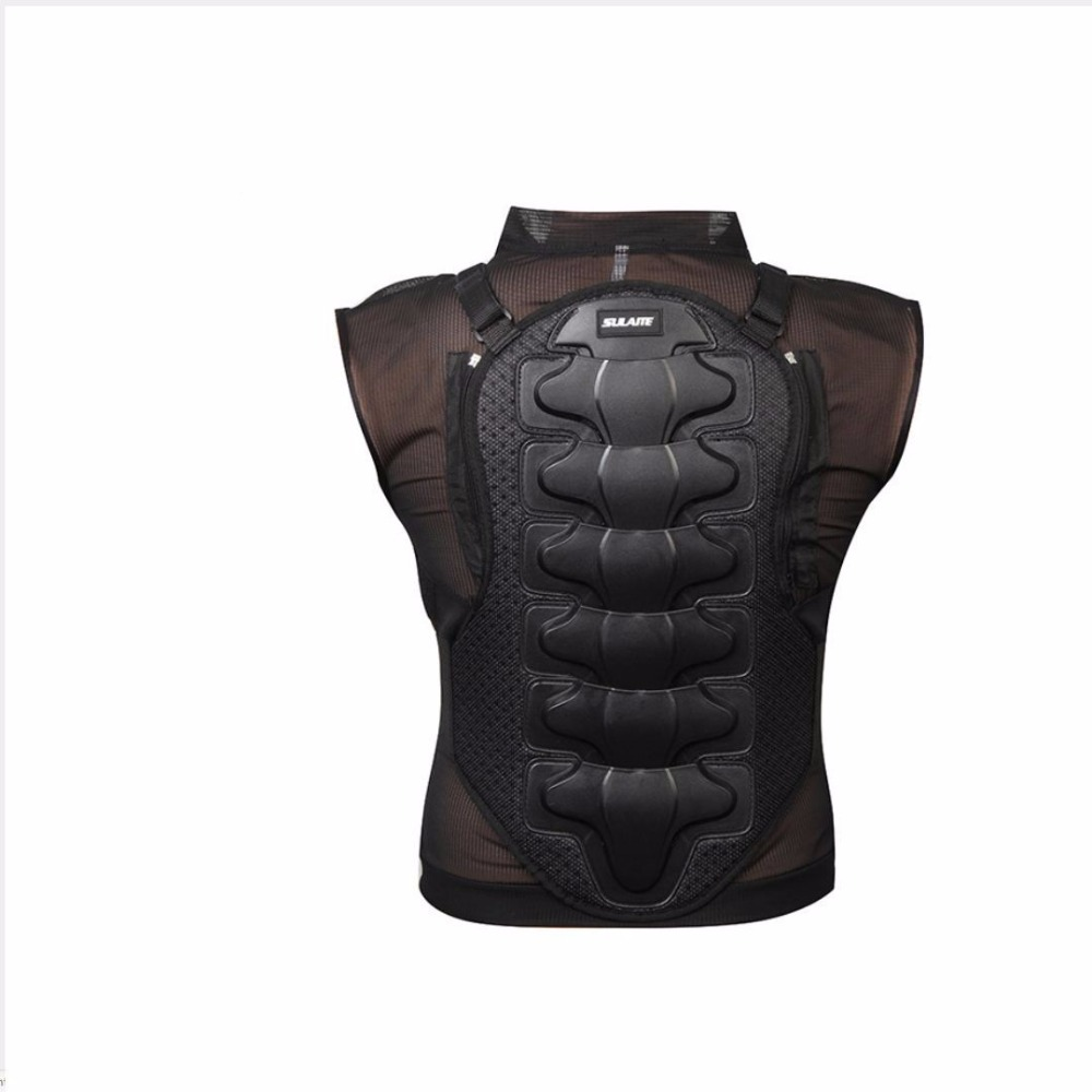 Adult Brand New Professional Motorcycle Protector Jackets Extreme Sports Back Chest Ski Skating Motocross safety Protective