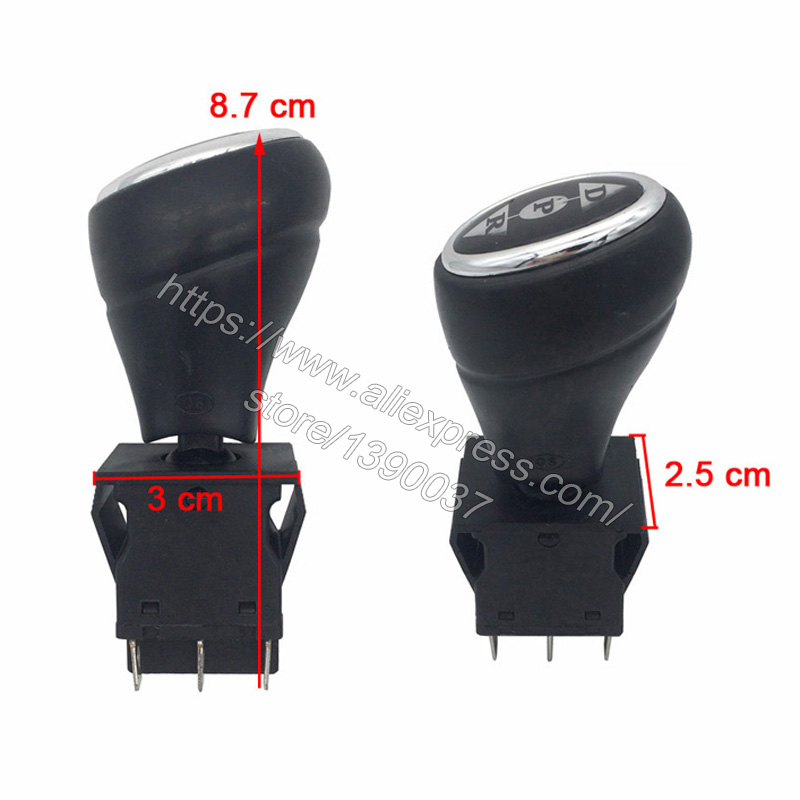 2X Kids Electric Car Putter Switch English Instruction Joystick for RC Car
