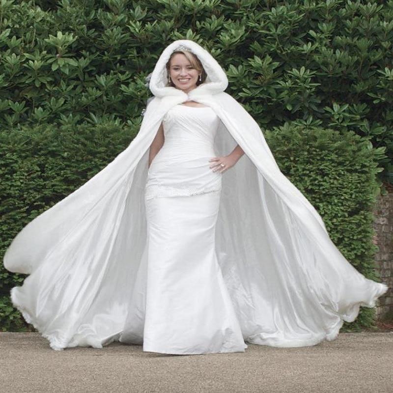 Winter Wedding Dress with Fur