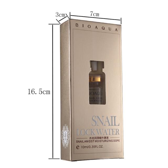 BIOAQUA Brand Snail Mucus Serum Facial Skin Care Essence Moisturizing Lift Firming Anti-wrinkle Anti Aging Whitening Day Creams