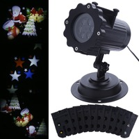 Outdoor Lighting LED Garden Light 4W Lawn Lamp Waterproof 12V Festival Party Remote Control Projector Light