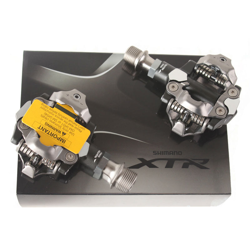 SHIMANO X.T.R PD M9000 SPD MTB Bicycle Pedals with Cleats