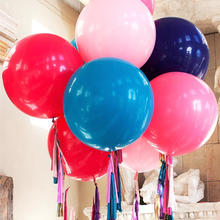 1pc Large 36inch Round Latex Balloon Wedding Decoration Inflatable Air Balloons Birthday Party Decorations Adults Decor Favors