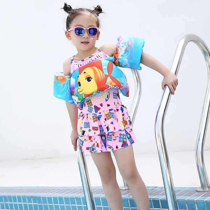 Baby Cartoon Inflatable Arm Floating Children Sleeves Swim Ring Swim Circle Safety Training Inflatable in the Swim Pool