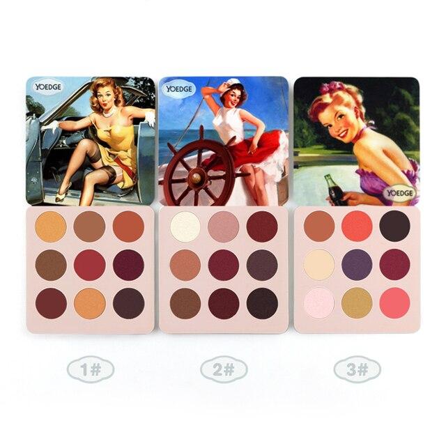 Eye Shadow Palette Makeup Shimmer Pigment Matte Waterproof Mineral Balm Shade Nude Cosmetic Professional Eyeshadow Pallete 2