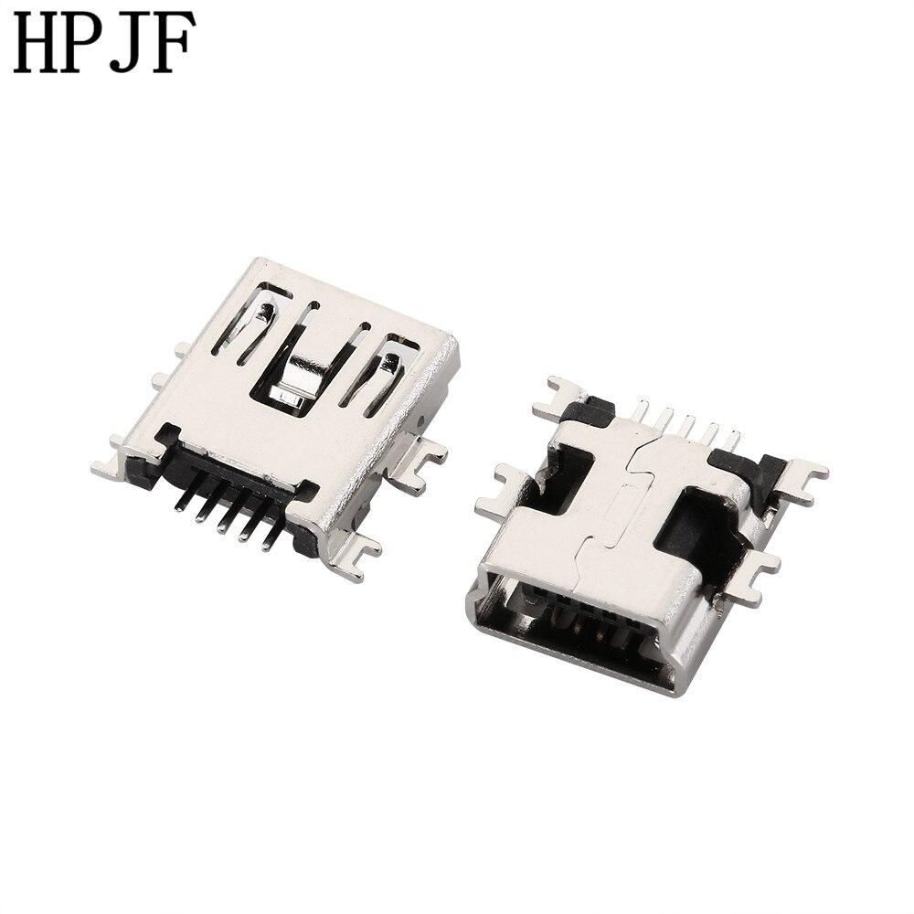 10PCS Mini USB Type B Female 5 Pin SMT SMD Shen Board PCB Socket Connector