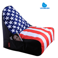 Free Shipping Printing Beanbag Covers Without Filling Big Bean Bag Chairs For Adults Largest Bean Bag