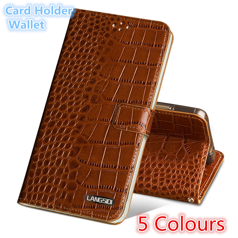 QH15 Wallet genuine leather flip case for Meizu Pro 6 Plus(5.7') phone case for Meizu Pro 6 Plus back case with card slots