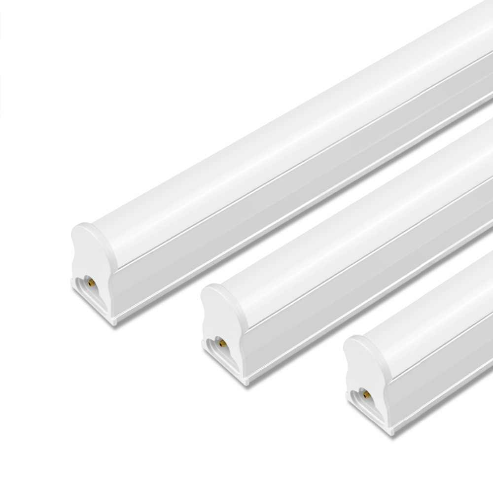LED Tube T5 Lamp 10W 6W 220V - 240V PVC Plastic Fluorescent Light Tube 600mm 300mm Home LED Wall Lamp Warm Cold White luces