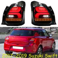 car bumper tail lamp for Suzuki swift taillight LED 2017 2018 2019y car accessories head light for Swift headlamp