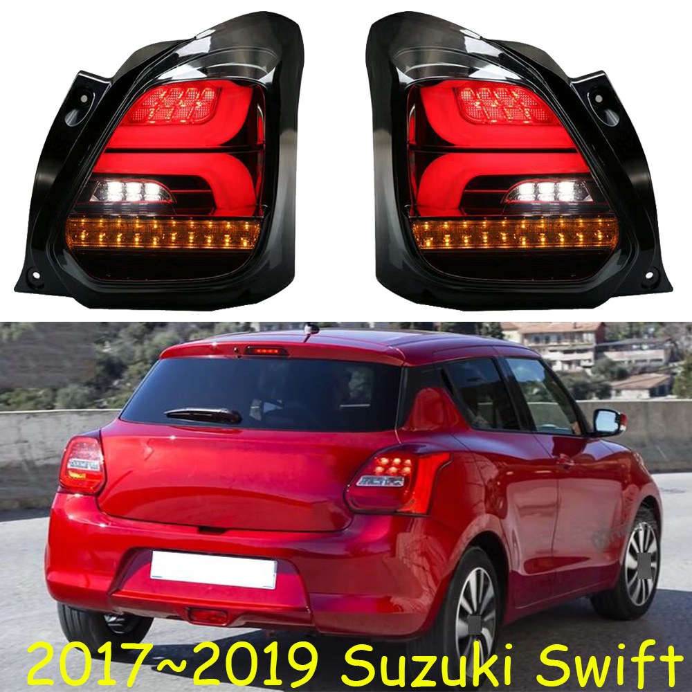 car bumper tail lamp for Suzuki swift taillight LED 2017 2018 2019y car accessories head light
