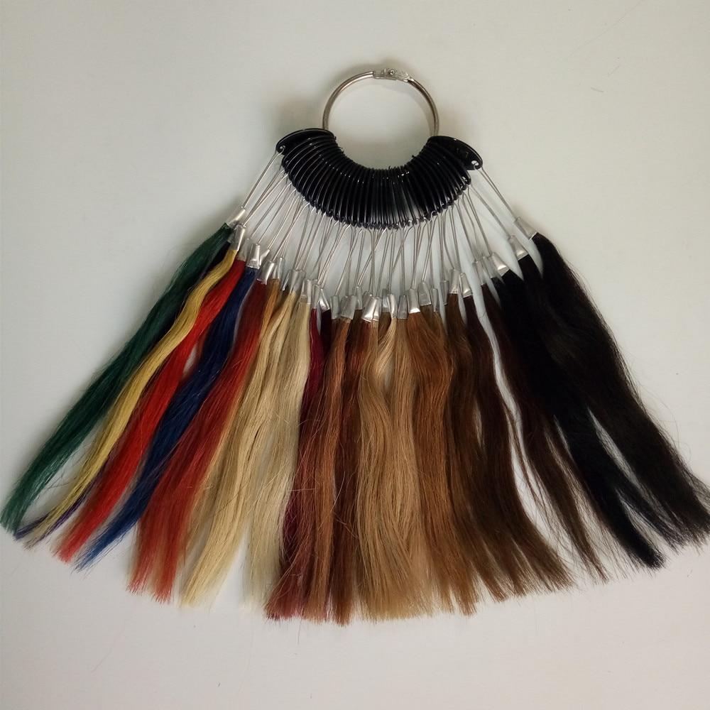 Anel novo da cor do cabelo humano
