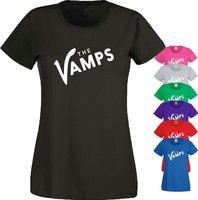Özelleştirilmiş T Shirt Kadin Sıkıştırma, Vamps Indie Rock Grubu Bradley One Direction Anneler Günü T Shirt