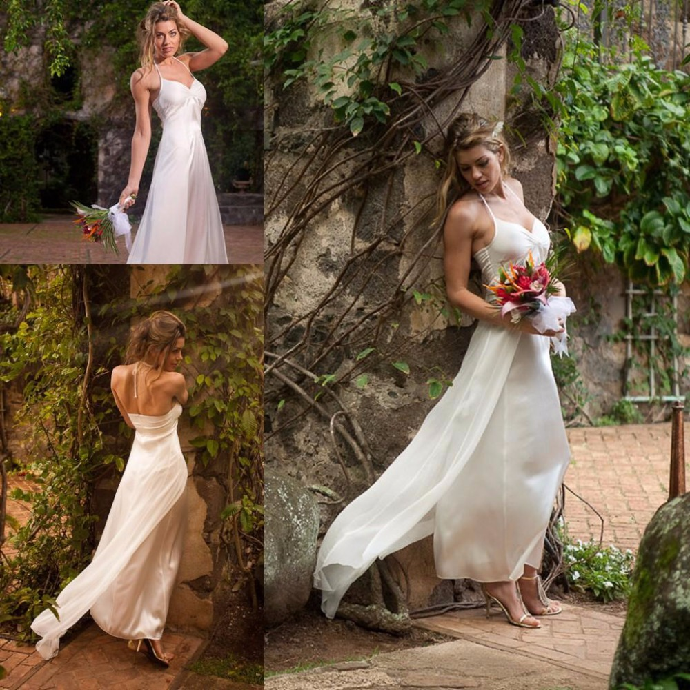 Halter Style Wedding Gowns: Popular Halter Style Bridal Gowns-Buy Cheap Halter Style