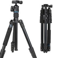 Benro IT25 SLR Camera Tripod For SONY Canon Nikon Flexible Aluminium Alloy Tripod Portable Bracket Professional Tripod Head Set