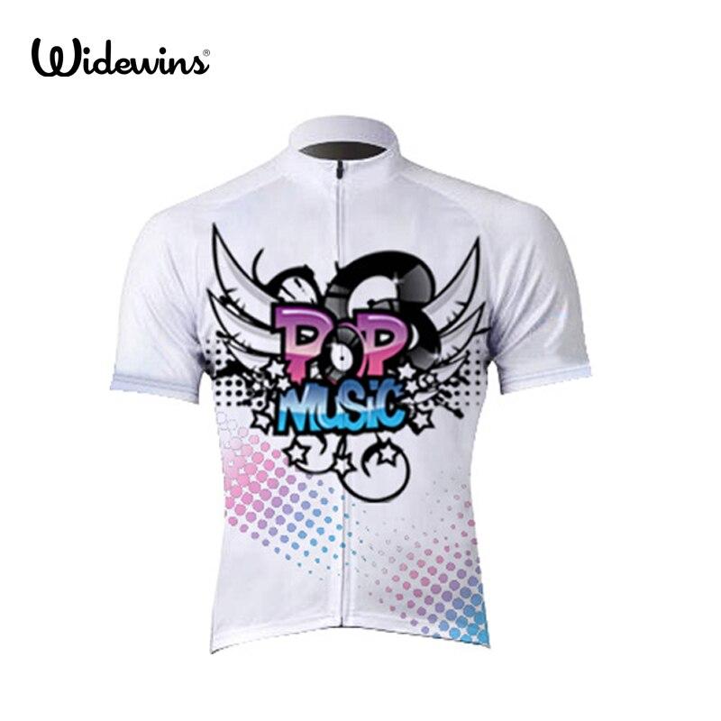 Новый widewins PP музыка Велоспорт Clothing Дышащий Велоспорт Джерси Тонкий Быстрый сухой Горный Велосипед Одежда Велосипед Спортивной 5033