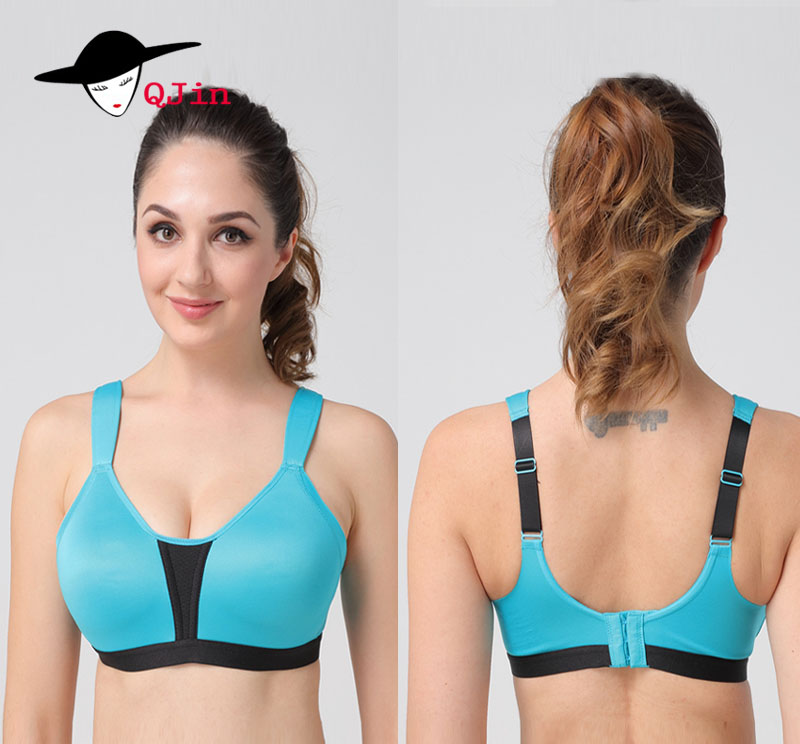 2018 Womens High Impact Wireless Support Cool Racerback Gym Active Non Padded Sports Bra Support Wirefree Workout Racerback Top