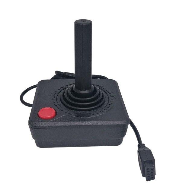 Ruitroliker Retro Classic Joystick Controller Gamepad for Atari 2600 Console System Black
