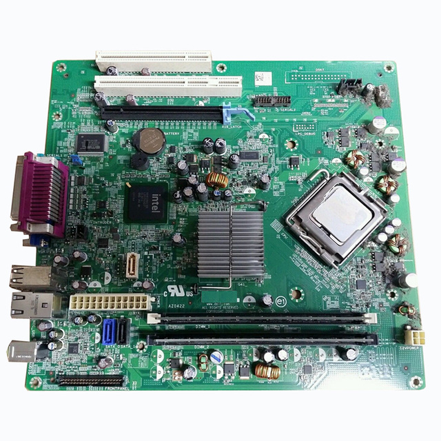 US $89 99 |Mini Tower Desktop G41 Motherboard PCI Express X16 HN7XN 0HN7XN  F0TGN 0F0TGN For Dell OptiPlex 380-in Motherboards from Computer & Office