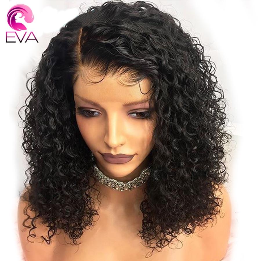 13x6 Spitze Front Menschliches Haar Perücken Für Schwarze Frauen 150 Dichte Glueless Pre Gezupft Brasilianische Remy Haar Perücken Mit Baby Haar Eva