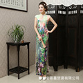 2016 Fashion Chinese Dress Qipao Long Cheongsam Dress Sexy Robe Orientale Dresses Casual Qi Pao Chinese Traditional Dress