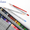 Набор цветных карандашей Marco Raffine 12/24/36/48/72 цветов Профессиональные акварельные цветные карандаши для рисования нетоксичные принадлежности ...