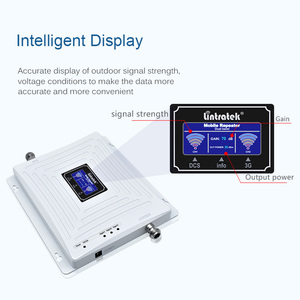 Image 2 - Lintratek 3G 4G Repeater 1800 2100 MHz Booster 3G 2100 สัญญาณ Booster 4G LTE 1800 amplifier Dual Band UMTS LTE KW20C DW #5