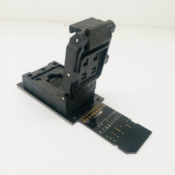 Emmc BGA169 BGA153 eMMC153 eMMC169 رقاقة القارئ هيكل صدفي مأخذ مأخذ رقاقة  البيانات الانتعاش موعد الاحتياطية الروبوت إصلاح