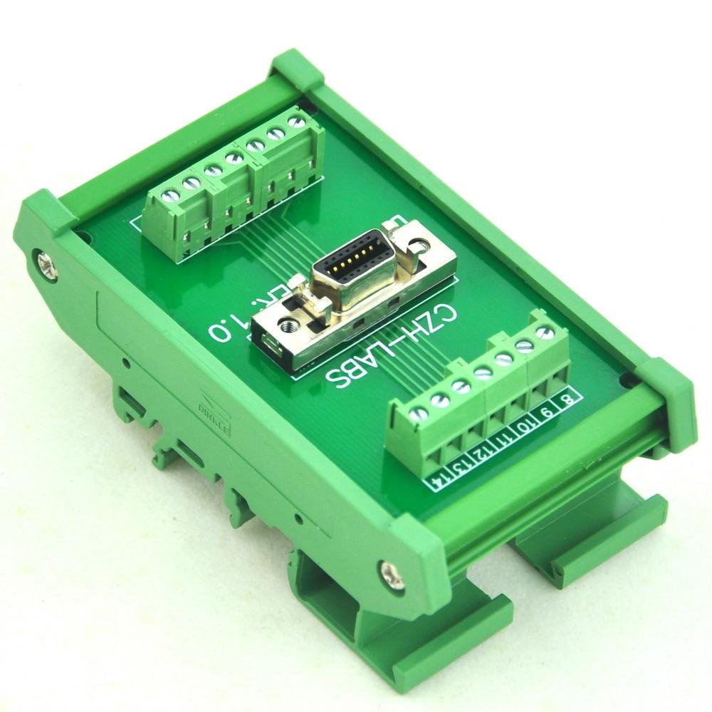 DIN Rail Mount 14-pin 0.05
