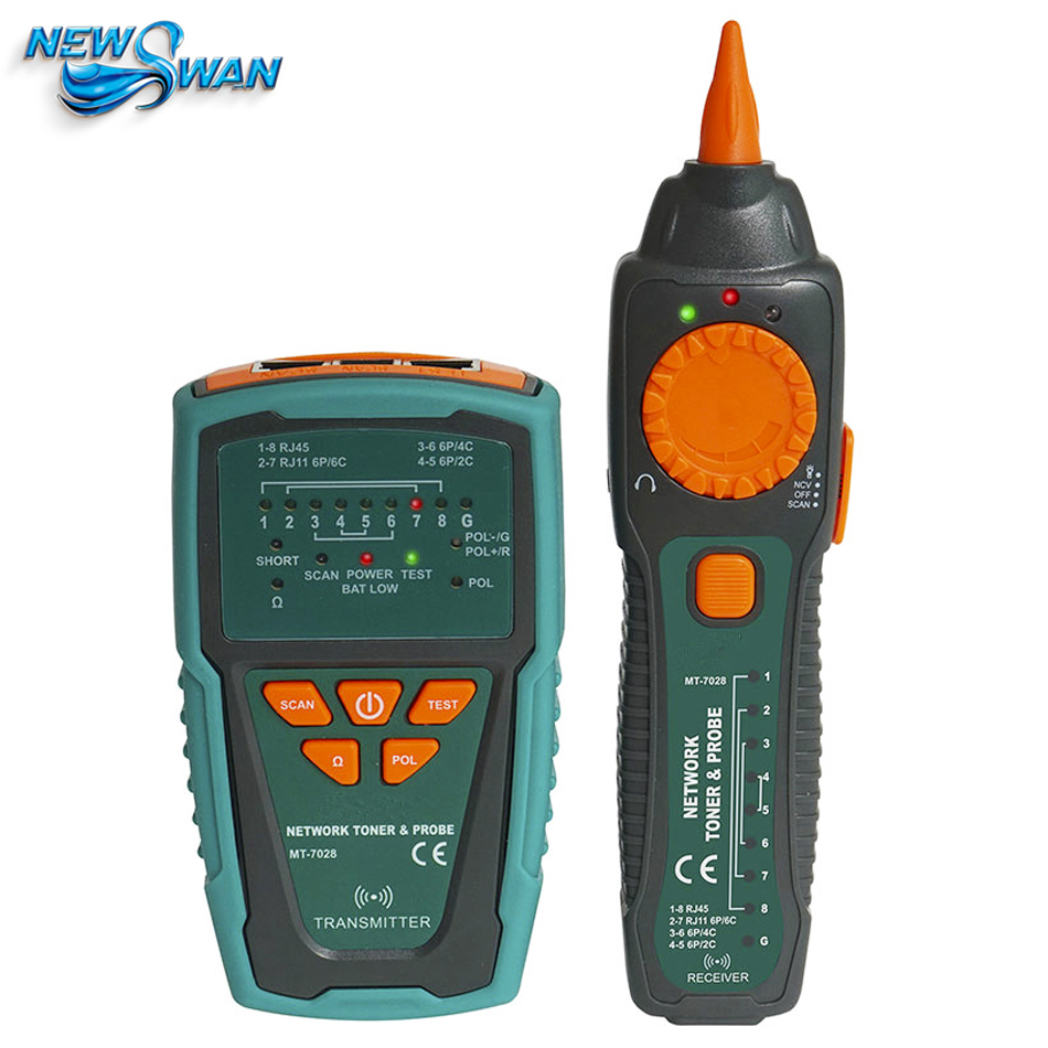 Audio Network Check Line Telephone Tester Internet Instrument Multi-function Network Cable Analyzer Tester Instrument цены