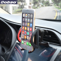 Universal car holder adjustable air vent cell phone holder for Iphone 4s 5 5s 6 Galaxy s3 s4 s7 Note 3 4 5 xiaomi note