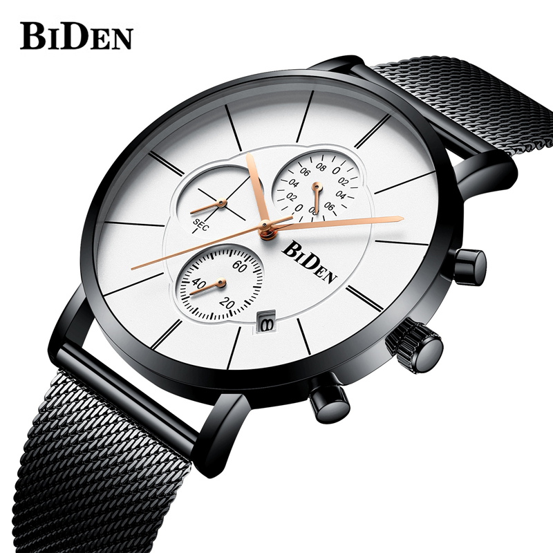Mesh Black Chronograph Sport Watch Men Relogio Masculino Top Brand Fashion Luxury Quartz Army Military Wrist Watches Clock Men brand military relogio masculino shark sport watch men erkek kol saati chronograph leather band clock wrist quartz watch sh253