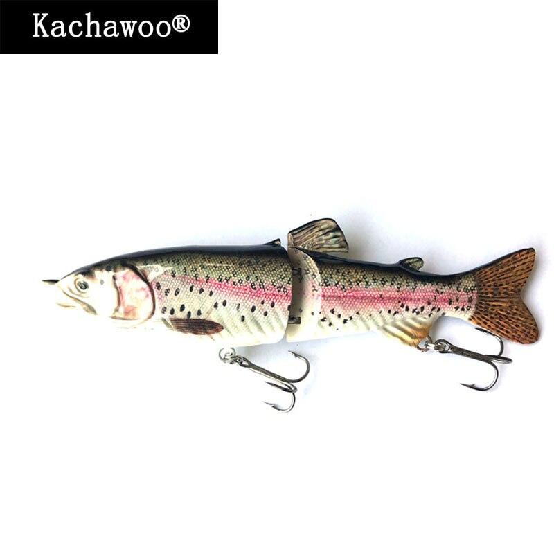 Pesca Swimbait Glide S natación 18 cm 68G señuelo duro 2 segmentos articulado Artificial trucha arco iris agua dulce peces cebo fregadero lento