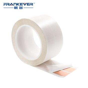 FrankEver Super Flat Adhesive Luidsprekerkabel 16 AWG 2 Dirigent Zuiver Koper Audio Kabel voor Huis Renovatie