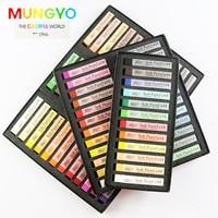 12 24 36 48 72 Colors Soft Pastels Drawing Set Art Set Soft Crayon Hair Chalk