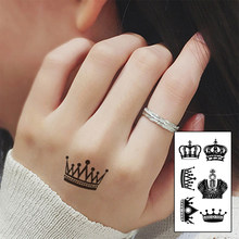 Popularne Korona Tatuaż Kupuj Tanie Korona Tatuaż Zestawy
