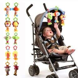 Детские Колокольчик Новорожденный Мальчики Девочки Детские Мягкие Милые Животные Куклы Колокольчики Развивающие Детские Bells Toys