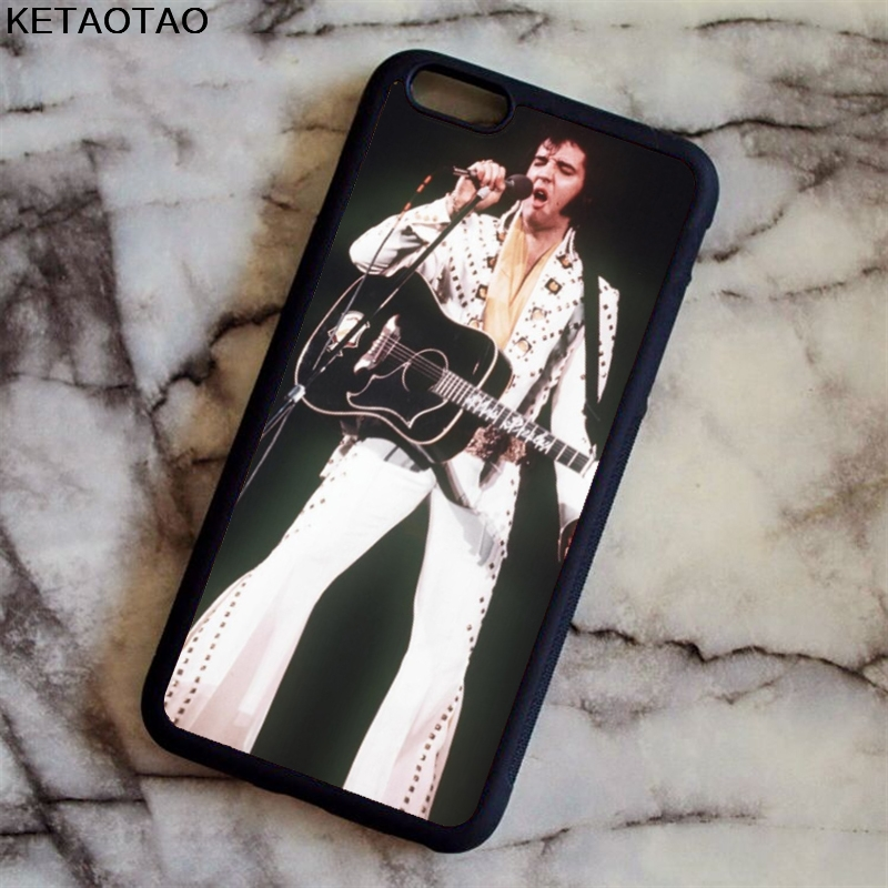KETAOTAO Elvis Presley White Kiss Phone Cases for iPhone 4S 5S 6 6S 7 8 X PLUS for Samsung S8 NOTE Case Soft TPU Rubber Silicone