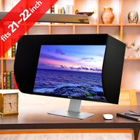iLooker 22E 21 inch & 22 inch LCD LED Video Monitor Hood Sunshade Sunhood for Dell HP Viewsonic Philips Samsung LG EIZO NEC ASUS