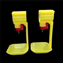 PCS A segunda-geração de 15 frango waterer beber Novo 25 milímetros tubos Bola mamilo Frango copo tigela de água automático