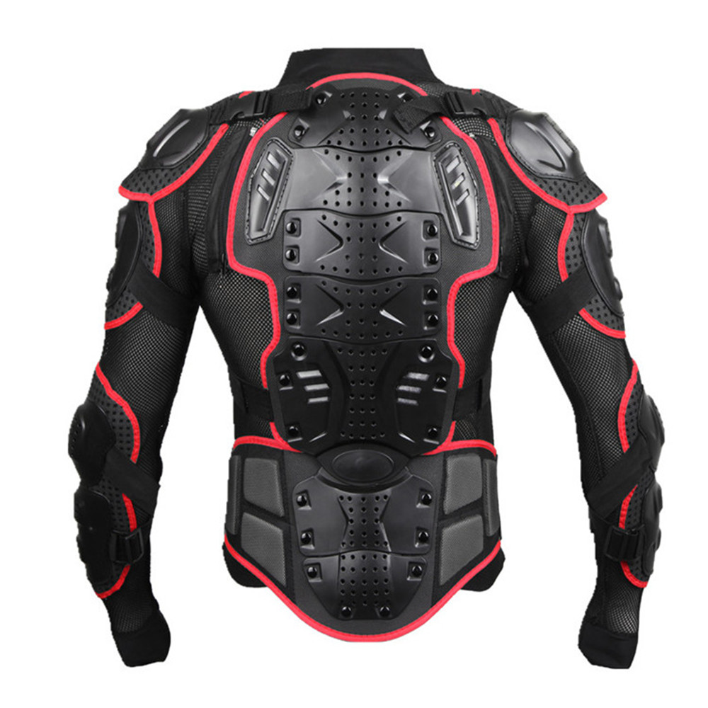 Wosawe Professional Motorcycle Body armor Protector Motocross back support men Spine Chest shield Protective Jacket Gear недорго, оригинальная цена
