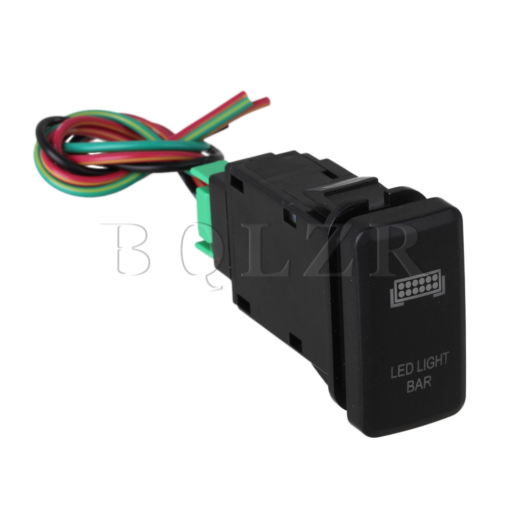 Bqlzr Bar Sign Red Pattern Push Switch With Cable For Toyota Old Junction Box Wiring Bq Style Dc12 24v In Switches From Lights Lighting On Alibaba Group