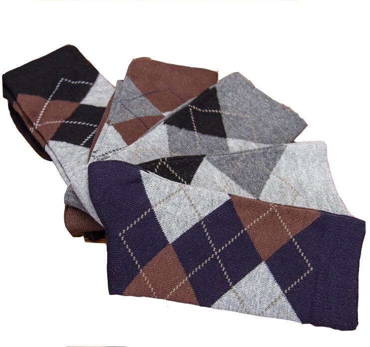 2019 New Winter Business & Travel & Leisure Party Men's Essential Cotton Lingge Deodorant Gentleman In Tube Socks WZ013