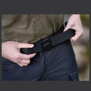Image 4 - Nouveau Youpin Zaofeng ceinture ceinture tactique extérieure 100% 96 Nylon sangle longueur réglable 38MM largeur hommes ceinture ont 3 couleurs