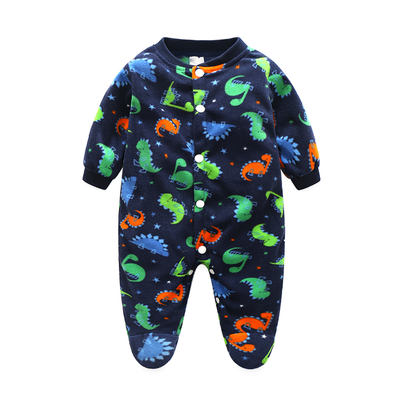Newborn Baby Clothes Cartoon Baby Rompers Long Sleeve Baby Girls Clothing Autumn Baby Boy Jumpsuits Roupas Bebes Infant Costume strip baby rompers long sleeve baby boy clothing jumpsuits children autumn clothing set newborn baby clothes cotton baby rompers