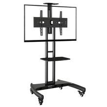 TV Cart Super Quality NB AVA1500-60-1P Mobile 40-60 Flat Panel LED LCD Plasma Stand With Camera Tray and AV Shelf
